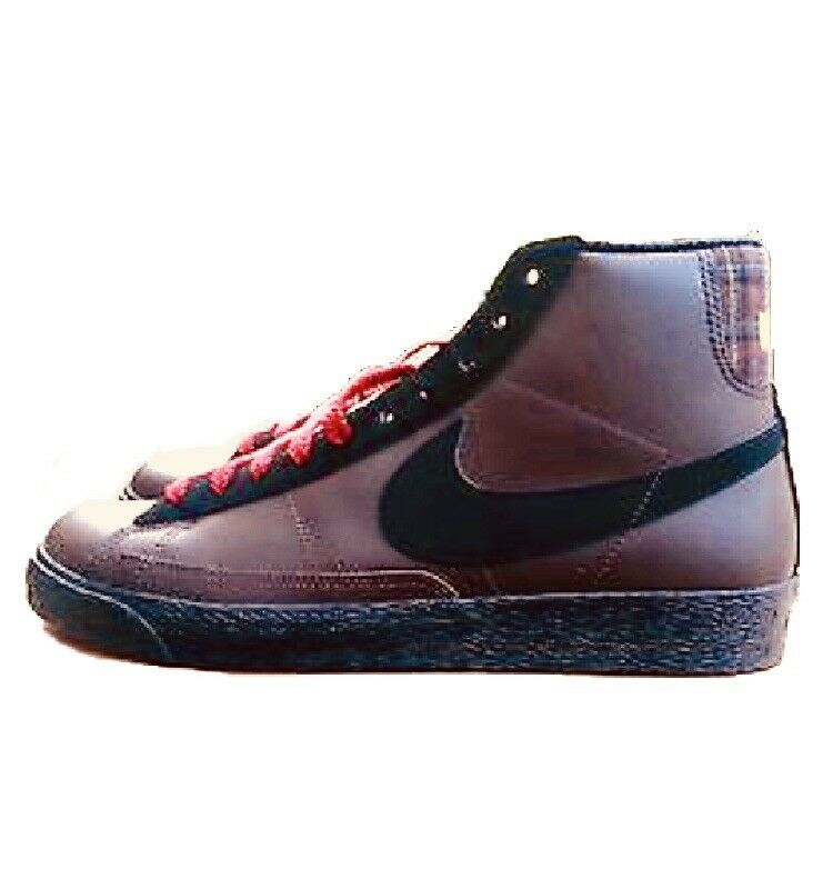 New Vintage Rare Men's Nike Jordan Blazer Brown Leather Mid size 9.5 New shoes for men and women, limited time discount