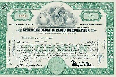 Usa American Cable Radio Corporation