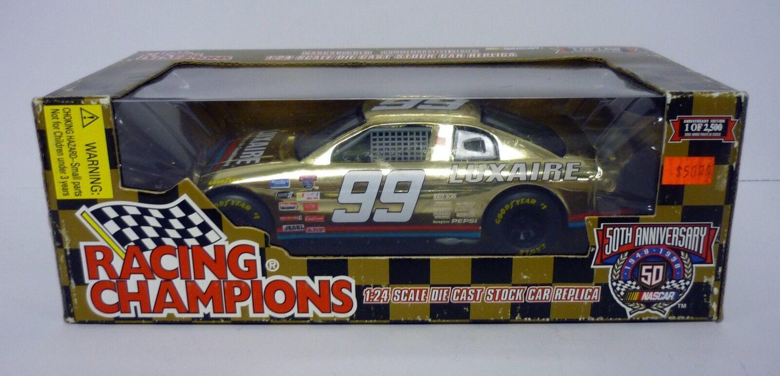 RACING CHAMPIONS NASCAR Luxaire 1 24 Die-Cast MIB Glenn Allen 1998