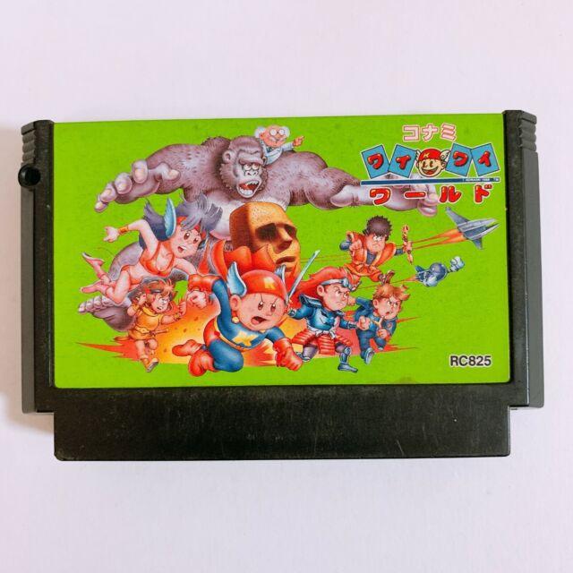 KONAMI Wai Wai World Nintendo Famicom FC NES Japan game Tested Working