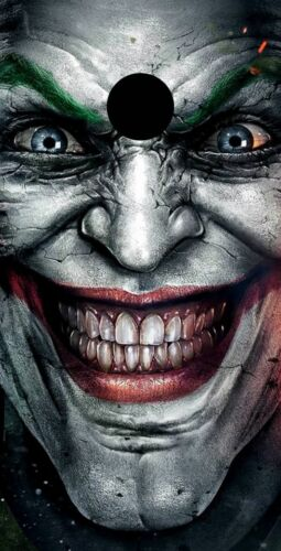 Batman Joker Themed 2x4 Custom Cornhole Board Set w//Bags
