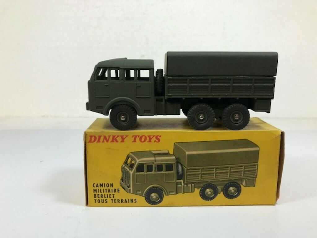 DINKY TOYS 818 - CAMION MILITARE - MECCANO - 1 48