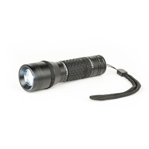 Lux-Pro LP470C-210-Lumen LED Miniature Flashlight AAA Alkaline Batteries Black
