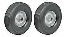 Hm 2pc 8 Replacement Solid Rubber Tire Amp Steel Wheel For Dolly Hand Truck Cart