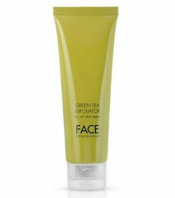 Full Size Sealed New In Box Face Stockholm Green Tea Exfoliator