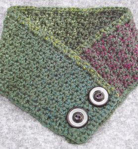 Crochet Pattern Warm Your Neck Warmer Instructions Ebay