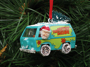 Hot Wheels Custom Scooby Doo The Mystery Machine Diecast ...