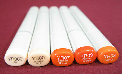 """Copic Sketch Marker Pen /""""YR Color Series/"""" Yellow Red"""