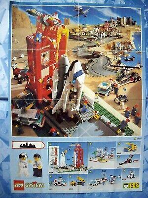 Analitico Lego-poster Catalogo-city - 1995-mostra Il Titolo Originale Alta Qualità