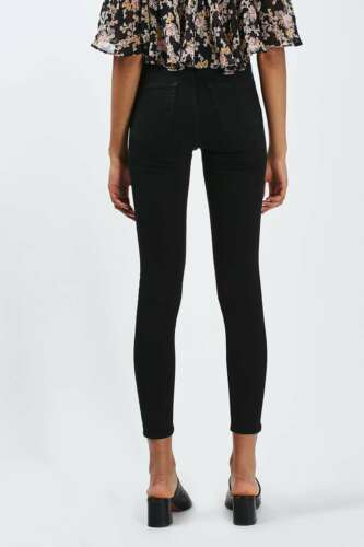 4 Jamie Moto 06 Topshop Jeans Ii Size Black Dh076 Uk Xqp5wr5xzd