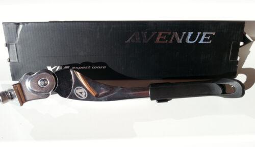 New Avenue bike bicycle adjustable kickstand silver black