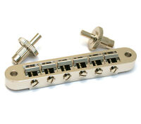 Nickel Nashville Tune-o-matic Bridge For Usa Gibson® Lp/sg/es Guitar Gb-0541-001