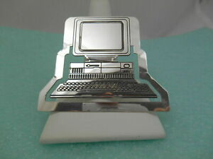 Tiffany-amp-Co-Computer-Bookmark-Sterling-Silver-Vintage-Rare