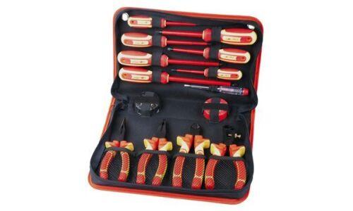 14-teilig Nylon-Tasche BRÜDER MANNESMANN VDE-Werkzeugsatz