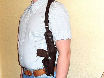 shoulder leather gun holster Makarov Beretta-84 Ruger lc9 Taurus PT709