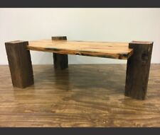 item 3 reclaimed barn wood console coffee table authentic 1800s solid oak reclaimed barn wood console coffee table authentic 1800s solid oak