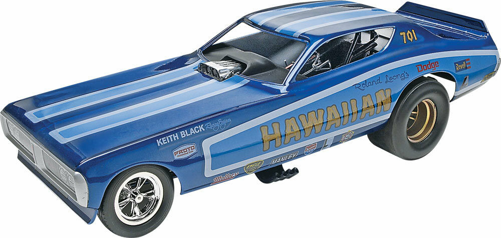 Revell 14082 Hawaiian Charger Funny Car Bausatz  | König der Quantität