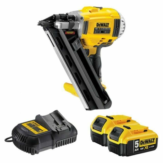 Dewalt Xr Dcn692p2 Cordless 18v Brushless 90mm Gasless Framing Nailer 5ah Li Ion