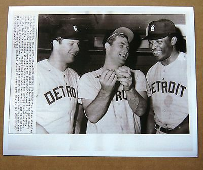 1968 World Series Detroit Tigers Starting Pitching photo: Lolich, McLain Wilson