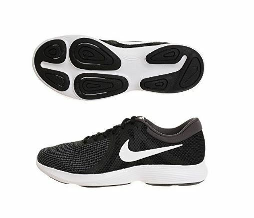Nike Revolution 4 (4E Wide) Running Shoe Black/White-Anthracite AA7402 001