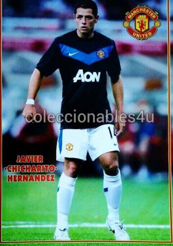 POSTER JAVIER CHICHARITO HERNANDEZ 11x16     manchester united fifa