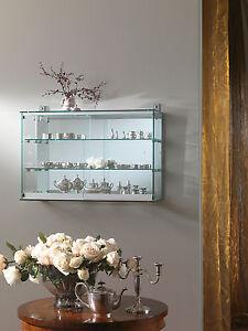 Bacheca vetrina vetrinetta teca pensile da appendere muro modellini modellismo ebay - Vetrinette da parete ...