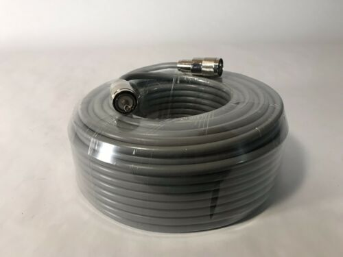 100FT RG-8x COAX COAXIAL CABLE HAND SOLDER w// MALE PL-259 CB HAM RADIO RG8 NEW!