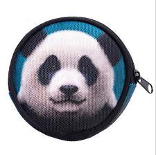 Cute Panda Face Wallet Womens' Girls' Cartoon Silicone Coin Purse Key Wallet