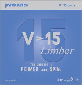 Victas V>15 Limber 2,0/Max mm