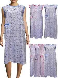 83bc2a09e La imagen se está cargando Mujer-Camison-Pijama-Desgaste-Noche-Camisa-para- Dama-