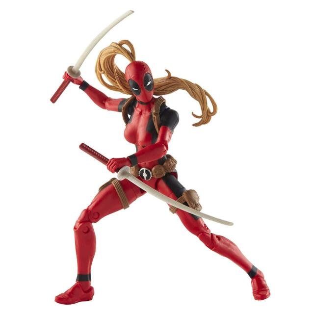 Hasbro Marvel Deadpool Legends Lady Deadpool Sauron BAF 6 Inch Action Figure