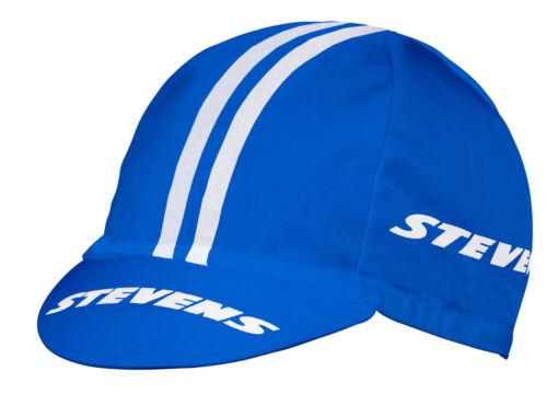 NEU STEVENS Rennmütze Equipe Blau-Weiß Rennrad Cap Mütze Kappe Racecap Logo