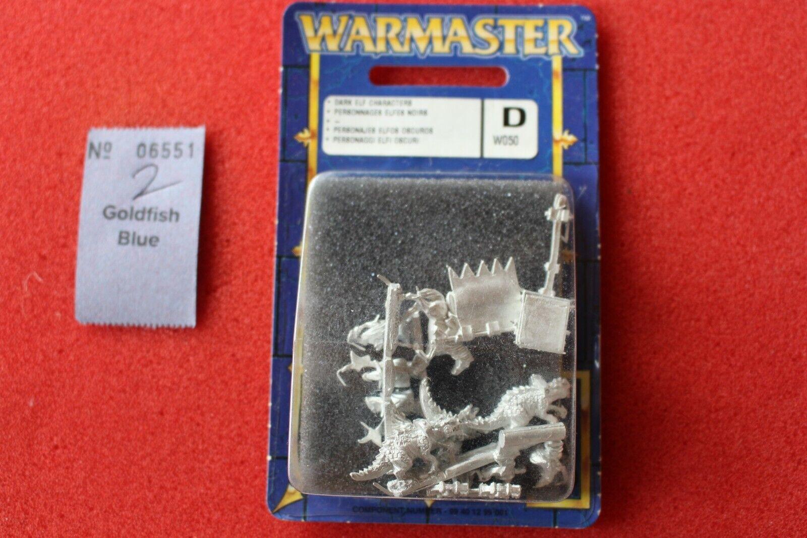 Envíos y devoluciones gratis. Warmaster Personajes elfo elfo elfo oscuro señores Nuevo Y En Caja Nuevo Sellado Juegos Workshop elfos de metal  ganancia cero