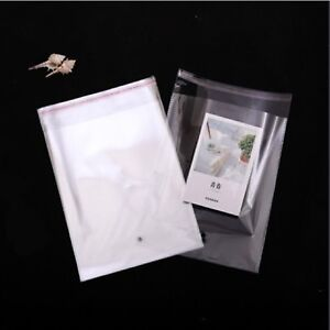 1000-Clear-Self-Adhesive-Seal-Plastic-Bags-34x24cm
