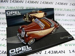 OPE43R-voiture-1-43-IXO-OPEL-collection-SUPER-6-decouvrable-1937-1938
