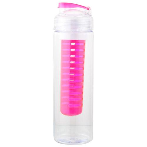 Trinkflasche Früchte Flasche mit Früchteeinsatz Fruit Infuser Fruchteinsatz FL