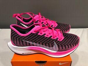 NEW-Nike-Women-039-s-Zoom-Pegasus-Turbo-2-Running-Shoes-AT8242-Black-Pink-Size-6