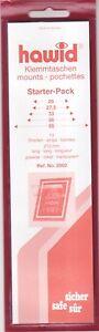 Hawid-Klemmtaschen-gemischte-Streifen-klar-durchsichtig-siehe-Beschreibung