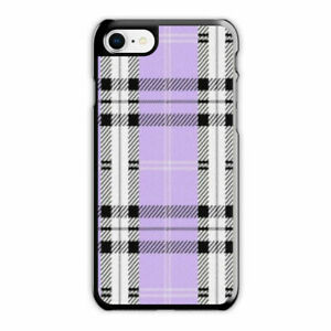 promo code 6d9f8 4c98d Details about Wildflower Plaid Purple Phone Case fit for iPhone 6s 6Plus 7  8 Plus X