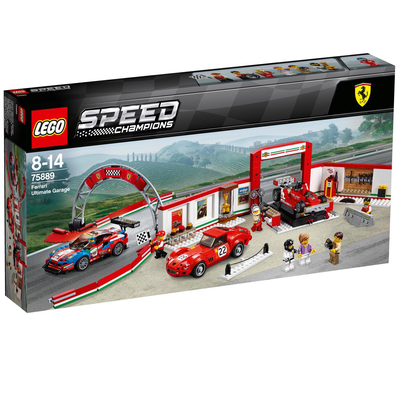 LEGO Speed Champions 75889 Ferrari Ultimativ Garage Le stå N3  18