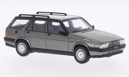 Alfa Romeo 75 Sportwagon V6 2.5  grau Metallic  1986 (Neo Scale 1 43   45047)