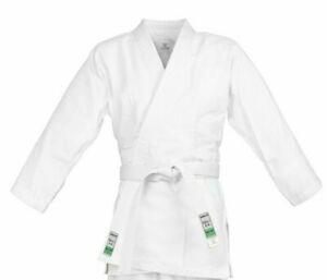Charmant Kimono Judo, Veste, Couleur Blanc, 100% Coton, Taille 130