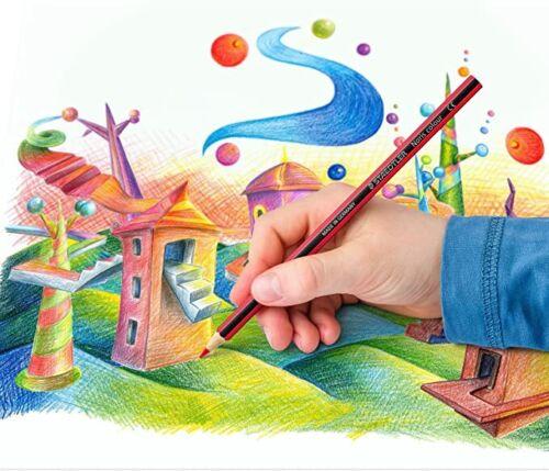STAEDTLER NORIS HB PENCILS SCHOOL ART DESIGN OFFICE SALE 6 PACK COLOURING