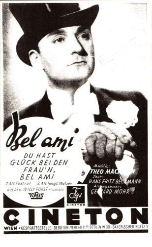 Du hast Glück bei den Frau/'n Bel Ami Noten für Salonorchester
