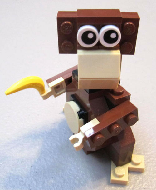 Lego Monkey Parts Instructions August 2014 Monthly Mini Model
