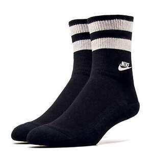 New with Tags SX6851 010 8-12 Nike Sportswear Socks Black//Grey Men/'s Size L