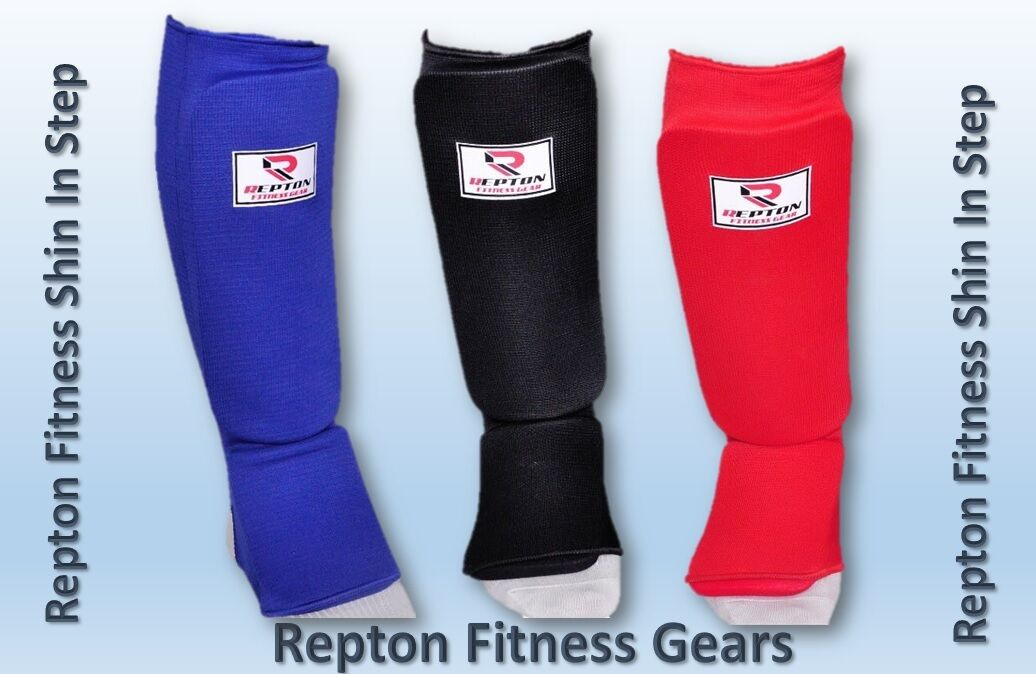 Repton Tibia Garde Garde Garde / Tibia en Step Coussins Mma Jambe Protège-pieds f6982b