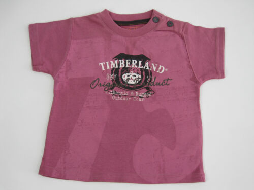 Timberland Baby Boys Round Neck Rugged Outdoor Top size 6 months Dusky Pink
