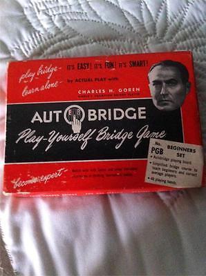 Adroit Goren Auto Bridge Play-yourself Bridge Game Beginners Set Games