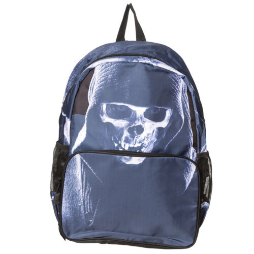 Banned Rucksack Double Trouble Skull Totenkopf Gothic Punk